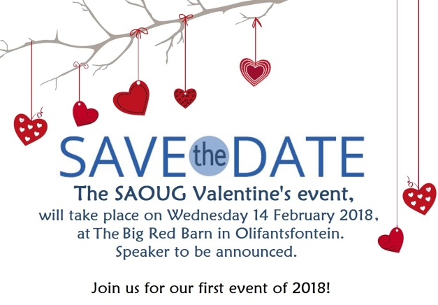 Save the Date Valentines 2018